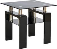 Журнальный столик Signal Lisa D (черный лак) -