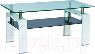 Журнальный столик Signal Lisa II (белый лак)