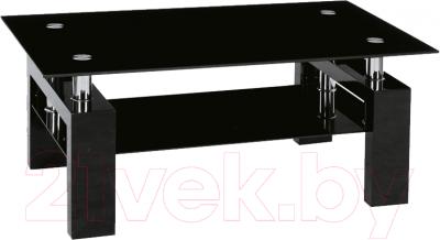 Журнальный столик Signal Lisa II (черный лак)