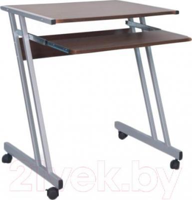 Компьютерный стол Signal B233 (серый-темный орех)