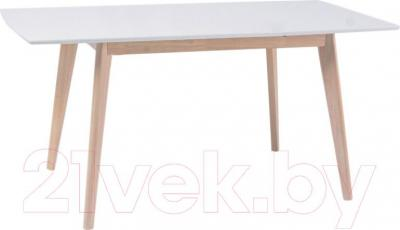 Обеденный стол Signal Combo (дуб беленый-белый)