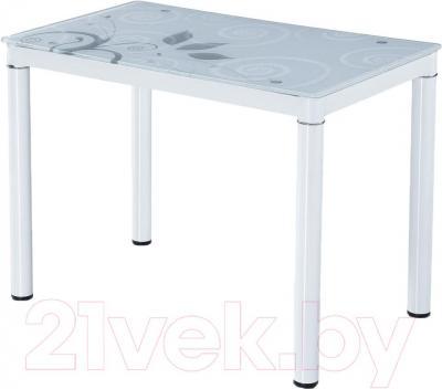 Обеденный стол Signal Damar 100x60 (белый)