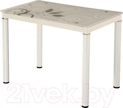 Обеденный стол Signal Damar 100x60 (серый)
