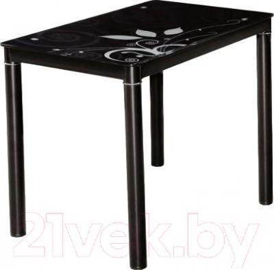 Обеденный стол Signal Damar 100x60 (черный)