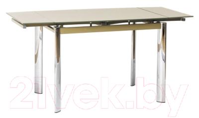 Обеденный стол Signal GD019 70x100 (темно-бежевый)