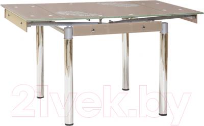 Обеденный стол Signal GD082 (темно-бежевый)