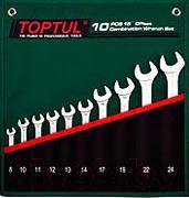 Набор однотипного инструмента Toptul GRAW0801 - общий вид