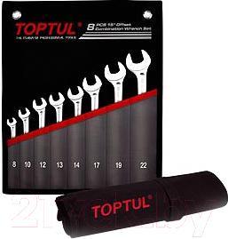 Набор однотипного инструмента Toptul GPCW0801 - общий вид
