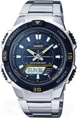 Часы мужские наручные Casio AQ-S800WD-1EVEF - общий вид