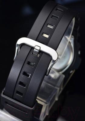Часы мужские наручные Casio AWG-M100B-1AER - ремешок