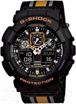 Часы мужские наручные Casio GA-100MC-1A4ER - общий вид