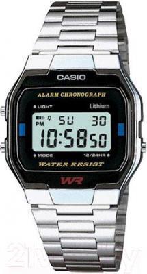 Часы мужские наручные Casio A163WA-1QES - общий вид