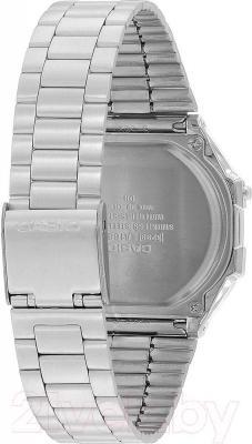 Часы мужские наручные Casio A168WEC-1EF - вид сзади