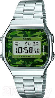 Часы мужские наручные Casio A168WEC-3EF - общий вид