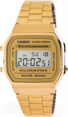 Часы мужские наручные Casio A168WG-9EF - общий вид