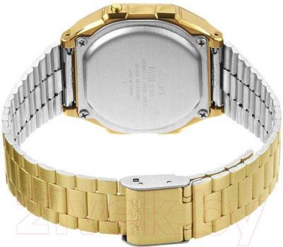 Часы мужские наручные Casio A168WG-9EF - вид сзади