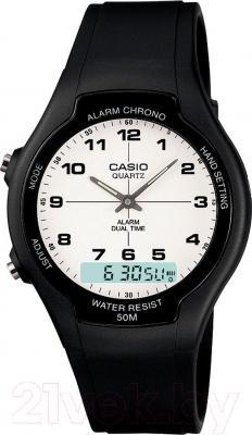 Часы мужские наручные Casio AW-90H-7BVES - общий вид