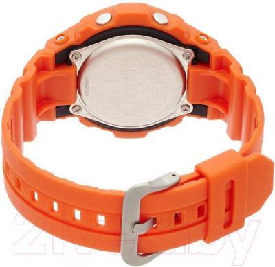 Часы мужские наручные Casio AWG-M100MR-4AER - вид сзади