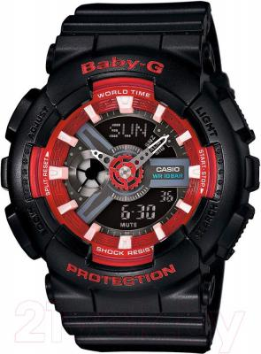 Часы женские наручные Casio BA-110SN-1AER - общий вид