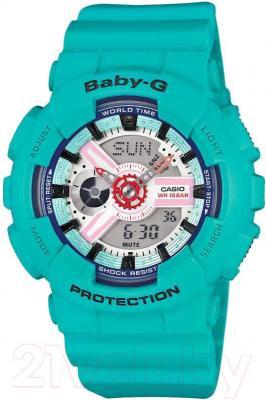 Часы женские наручные Casio BA-110SN-3AER - общий вид