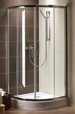 Стенка+дверь душевой кабины Radaway Premium Plus A (30413-01-06N) - вид в интерьере
