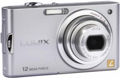 Компактный фотоаппарат Panasonic Lumix DMC-FX60EE-S - общий вид
