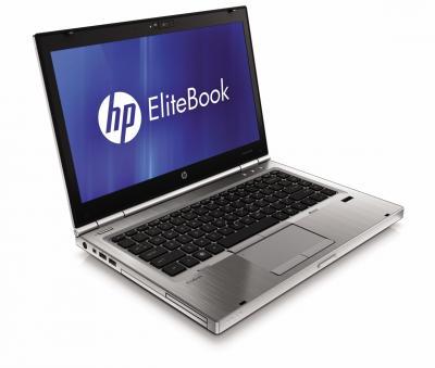 Ноутбук HP EliteBook 8560w (LW924AW) - спереди сбоку