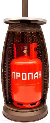 Уличный инфракрасный газовый обогреватель Sundays PH01-S-V (c баллоном)