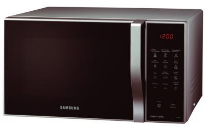 Микроволновая печь Samsung PG838R-SB - вид спереди