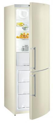 Холодильник с морозильником Gorenje RK62345DC - вид спереди