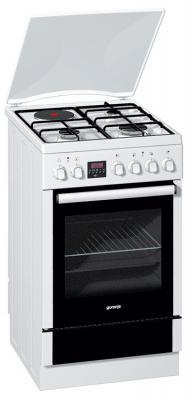 Кухонная плита Gorenje K55303AW - вид спереди