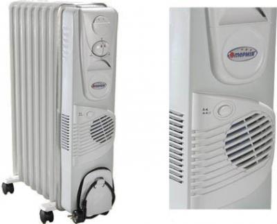 Масляный радиатор Термия Н1124В - Общий вид