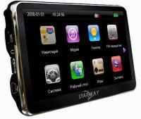GPS навигатор Starway Touch - вид сбоку
