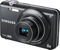 Компактный фотоаппарат Samsung ST96 (EC-ST96ZZBPBRU) Black - общий вид