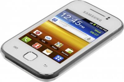 Смартфон Samsung S5360 Galaxy Y White (GT-S5360 UWASER) - общий вид