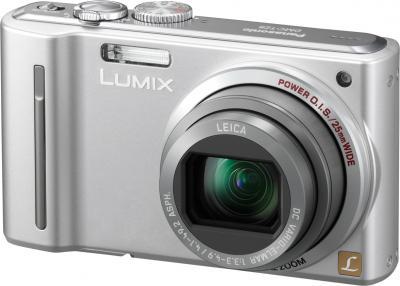 Компактный фотоаппарат Panasonic Lumix DMC-TZ8EE-S - общий вид