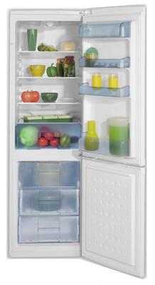 Холодильник с морозильником Beko CS331020 - общий вид