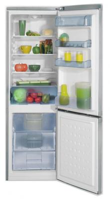 Холодильник с морозильником Beko CS331020S - общий вид