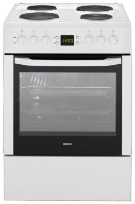 Кухонная плита Beko CSE 66300 GW - вид спереди