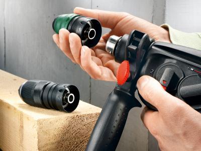 Перфоратор Bosch PBH 3000-2 FRE (0.603.394.220) - в работе