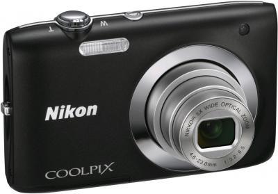 Компактный фотоаппарат Nikon Coolpix S2600 Black - общий вид