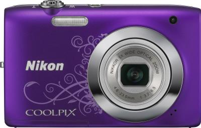 Компактный фотоаппарат Nikon COOLPIX S2600 Purple - вид спереди