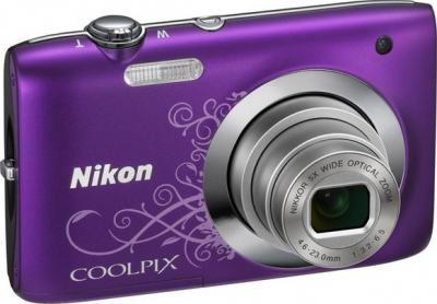 Компактный фотоаппарат Nikon COOLPIX S2600 Purple - общий вид