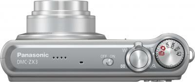 Компактный фотоаппарат Panasonic Lumix ZX3EE-S - вид сверху