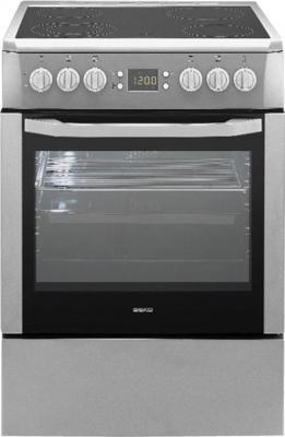 Кухонная плита Beko CSM 67300 GS - вид спереди