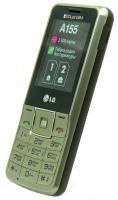 Мобильный телефон LG A155 Gold-Gray - вид сбоку