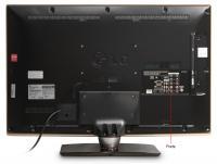 Телевизор LG 32LV2500 - Вид сзади