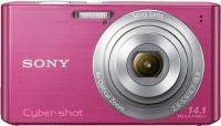 Компактный фотоаппарат Sony Cyber-shot DSC-W610 (Pink) - вид спереди