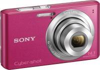 Компактный фотоаппарат Sony Cyber-shot DSC-W610 (Pink) - общий вид