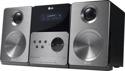 Микросистема LG XB66 - общий вид